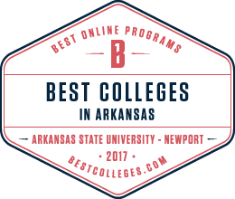 Best Colleges.com ASUN Seal